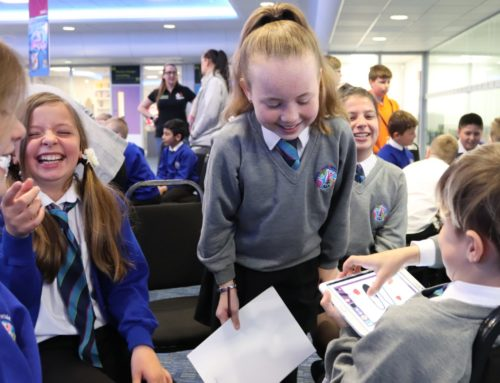 Ultimate Digital welcome The Ormiston South Parade Academy as part of the Hull and East Yorkshire Children's University Project